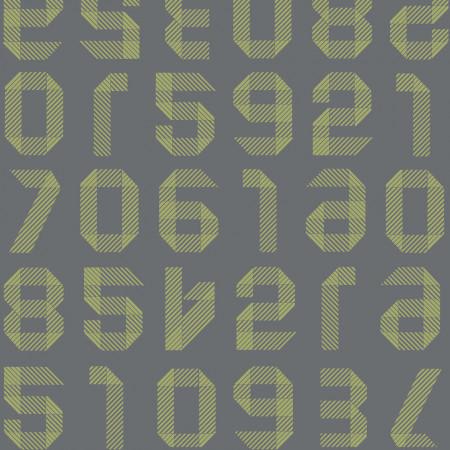 Tarkett Covor PVC Origami Numbers Anis www.linoleum.ro