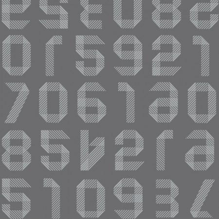 Tarkett Covor PVC Origami Numbers Dark Grey www.linoleum.ro