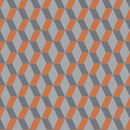 Tarkett Covor PVC Cubic Bright Orange www.linoleum.ro