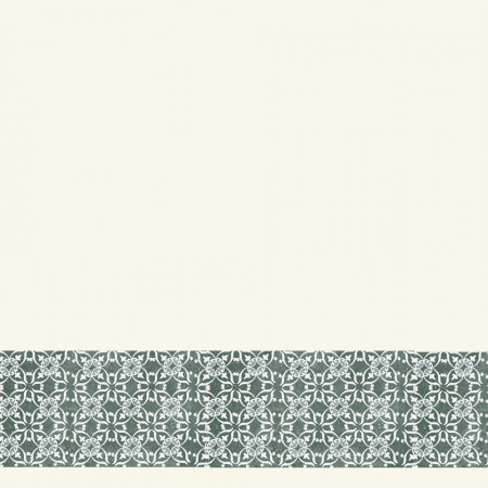 Tarkett Bordura decorativa Tapet AQUARELLE WALL BORDERS Decor Ornament GREEN www.linoleum.ro