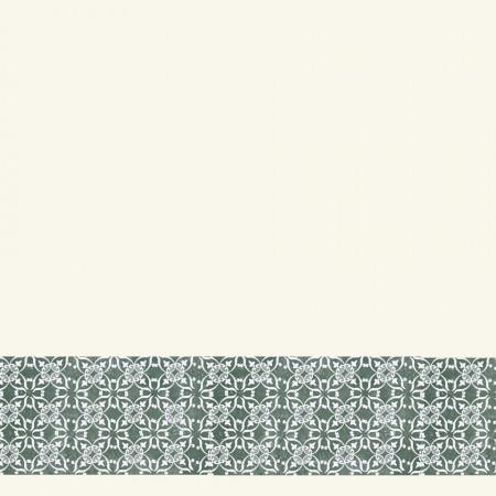 Tarkett Bordura decorativa Tapet AQUARELLE WALL BORDERS Decor Ornament GREEN www.linoleum.ro