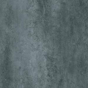 Covor PVC antiderapant AQUARELLE FLOOR - Rust Metal DARK AQUA