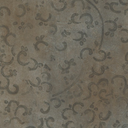 Linoleum Covor PVC Tarkett Pardoseala Antiderapanta AQUARELLE FLOOR - Medallion DARK BROWN