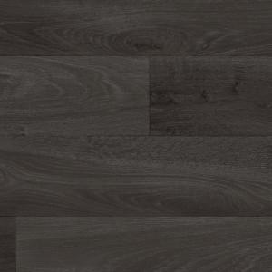 Covor PVC antiderapant AQUARELLE FLOOR - Oak BLACK
