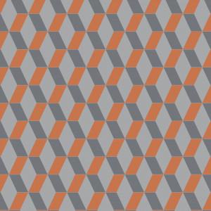 Linoleum Covor PVC TAPIFLEX EXCELLENCE 80 - Cubic BRIGHT ORANGE