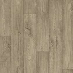 Linoleum Covor PVC Tarkett METEOR 55 - Cliff Oak BROWN