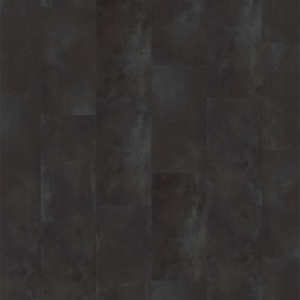 Linoleum Covor PVC Tarkett Pardoseala LVT iD Essential Click - Rust Metal BLACK