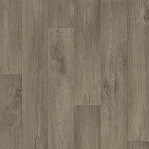 Linoleum Covor PVC METEOR 55 - Cliff Oak DARK BROWN