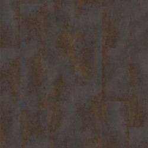 Linoleum Covor PVC Tarkett Pardoseala LVT iD Essential Click - Rust Metal BROWN