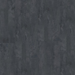 Linoleum Covor PVC Tarkett Pardoseala LVT iD Inspiration Click High Traffic 70/70 PLUS - Rough Concrete BLACK