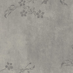 Linoleum Covor PVC Tarkett Tapet PVC AQUARELLE WALL - Concrete Flower GREY