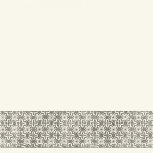 Tapet decorativ din PVC AQUARELLE WALL BORDERS - Decor Ornament BLACK