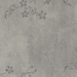 Tapet PVC Aquarelle - Concrete Flower GREY