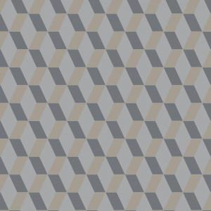 Linoleum Covor PVC TAPIFLEX EXCELLENCE 80 - Cubic DARK BEIGE