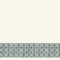Linoleum Covor PVC Tarkett Bordura decorativa Tapet AQUARELLE WALL BORDERS - Decor Ornament GREEN