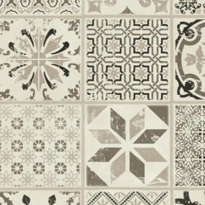 Linoleum Covor PVC Tarkett Pardoseala LVT STARFLOOR CLICK 30 & 30 PLUS - Retro BLACK WHITE