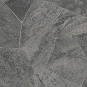 Covor PVC antiderapant AQUARELLE FLOOR - Shiffer DARK GREY