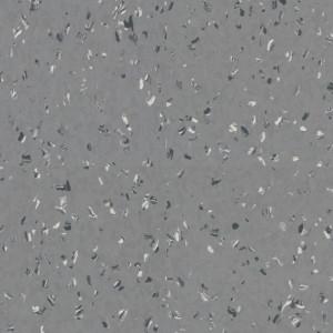 Linoleum Covor PVC iQ Natural Acoustic - Natural FLAKES COLD GREY 0057