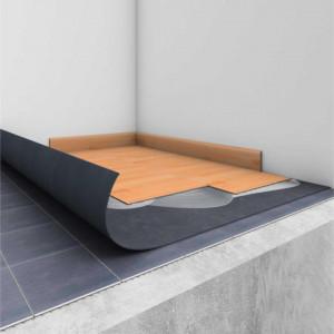 Linoleum Covor PVC Tarkett TARKOFLAT Underlay pardoseală neuniformă - DARK GREY