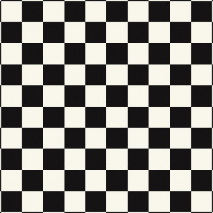 Tarkett Pardoseala Antiderapanta AQUARELLE FLOOR - Square BLACK & WHITE