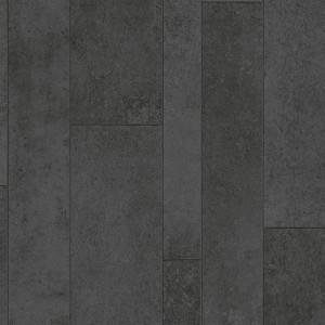 Covor PVC antiderapant AQUARELLE FLOOR - Variata BLACK