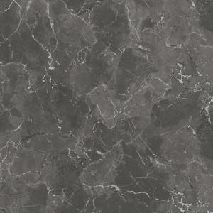 Covor PVC antiderapant AQUARELLE FLOOR - Royal Marble BLACK