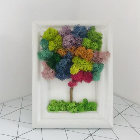 Tablou cu pomisor multicolor