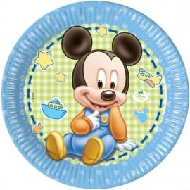Poze Farfurii 23 cm Mickey Baby