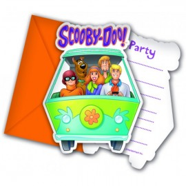 Poze Invitatii party Scooby Doo
