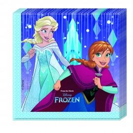 Poze Servetele party Frozen Snowflakes