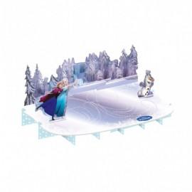 Poze Suport tort Frozen Ice Skating