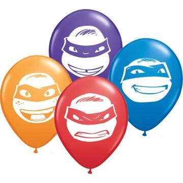 Poze Baloane Testoasele Ninja 100 bucati