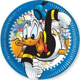 Poze Farfurii Donald 23 cm.