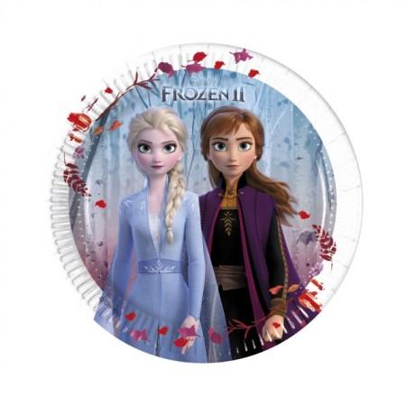 Poze Farfurii tort Frozen 2