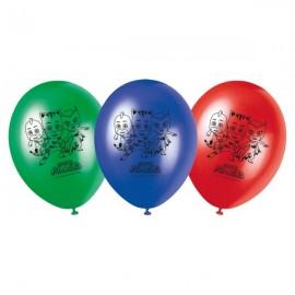 Poze Set 8 baloane party Eroi Pijama