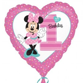Poze Balon Minnie 1 an