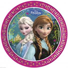 Poze Farfurii Frozen - Regatul de Gheata 23 cm