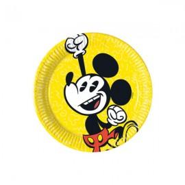 Poze Farfurii tort Mickey Super Cool