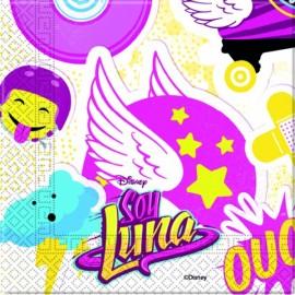Servetele 20 servetele party Soy Luna