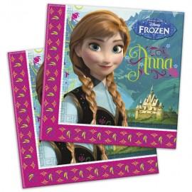 Servetele party Frozen - Regatul de Gheata