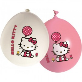 Poze Baloane Hello Kitty Tulip