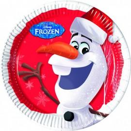 Poze Farfurii 23 cm Olaf Christmas