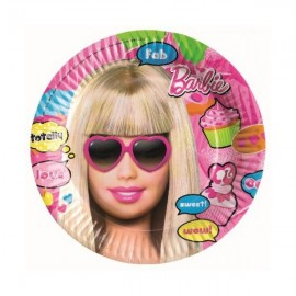 Poze Farfurii Totally Barbie 23cm