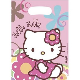 Poze Pungi party Hello Kitty Bamboo