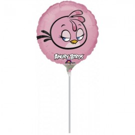 Poze Balon mini folie Pink Bird - Angry Birds