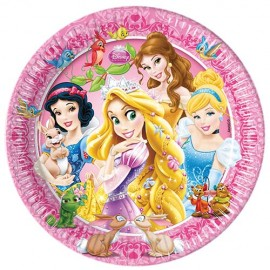 Poze Farfurii 20 cm Princess & Animals