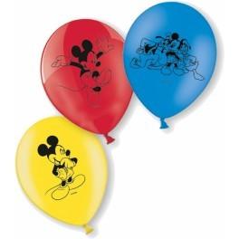 Poze Baloane Mickey Mouse 6 bucati