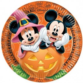 Poze Farfurii Halloween Mickey