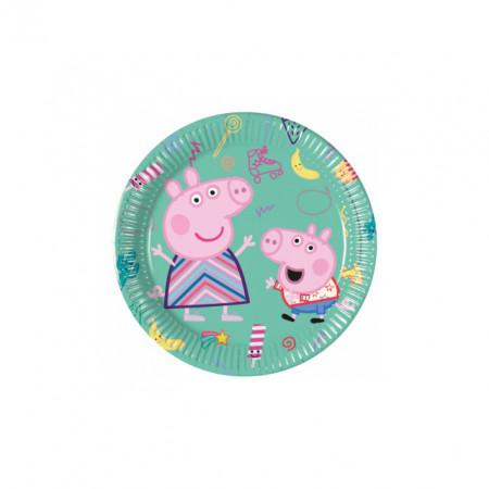 Poze Farfurii tort Peppa Pig