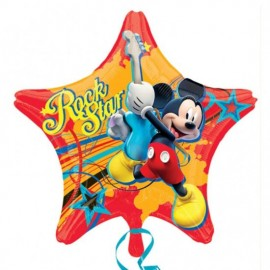 Poze Folie figurina Mickey Mouse Rock Star